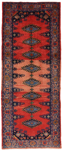 Enjelas - Hamadan Persian Carpet 323x132