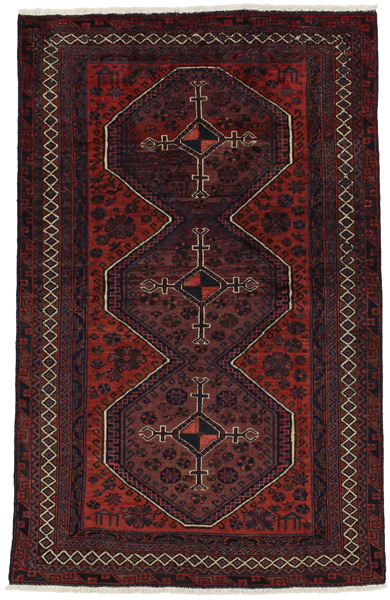 Afshar - Sirjan Persian Carpet 202x130