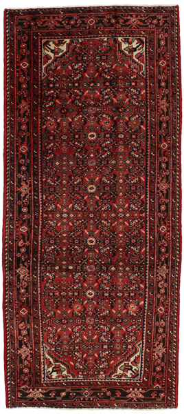 Hosseinabad - Hamadan Persian Carpet 284x124
