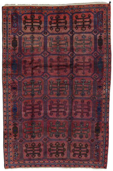 Lori - Bakhtiari Persian Carpet 221x143