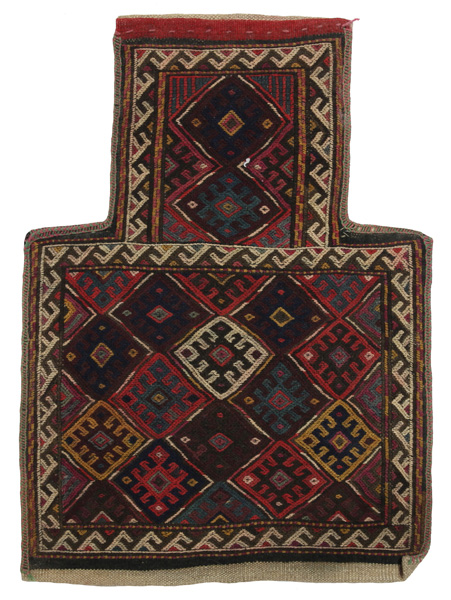 Qashqai - Saddle Bag Persian Carpet 55x40