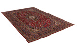 Kashan Persian Rug 318x205 - Picture 1