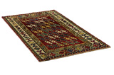 Gabbeh - Qashqai Persian Carpet 203x114 - Picture 1