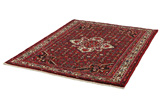 Borchalou - Hamadan Persian Carpet 207x156 - Picture 2