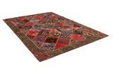 Patchwork Persian Rug 300x213 - Picture 1