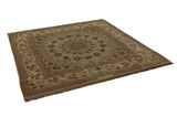 Isfahan Persian Rug 195x195 - Picture 1