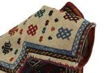 Qashqai - Saddle Bag Persian Rug 44x39 - Picture 2