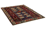 Gabbeh - Bakhtiari Persian Carpet 233x160 - Picture 1
